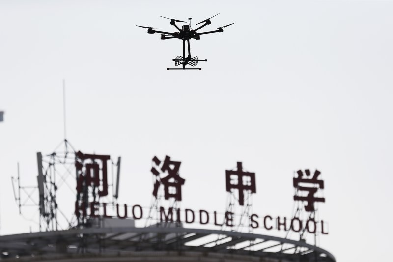 China: cheating in exams - drones