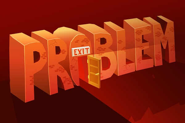 each problem has a solution - exit - teaching students to find the hard part and solve it