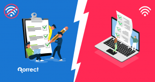 difference between online exam and offline exam