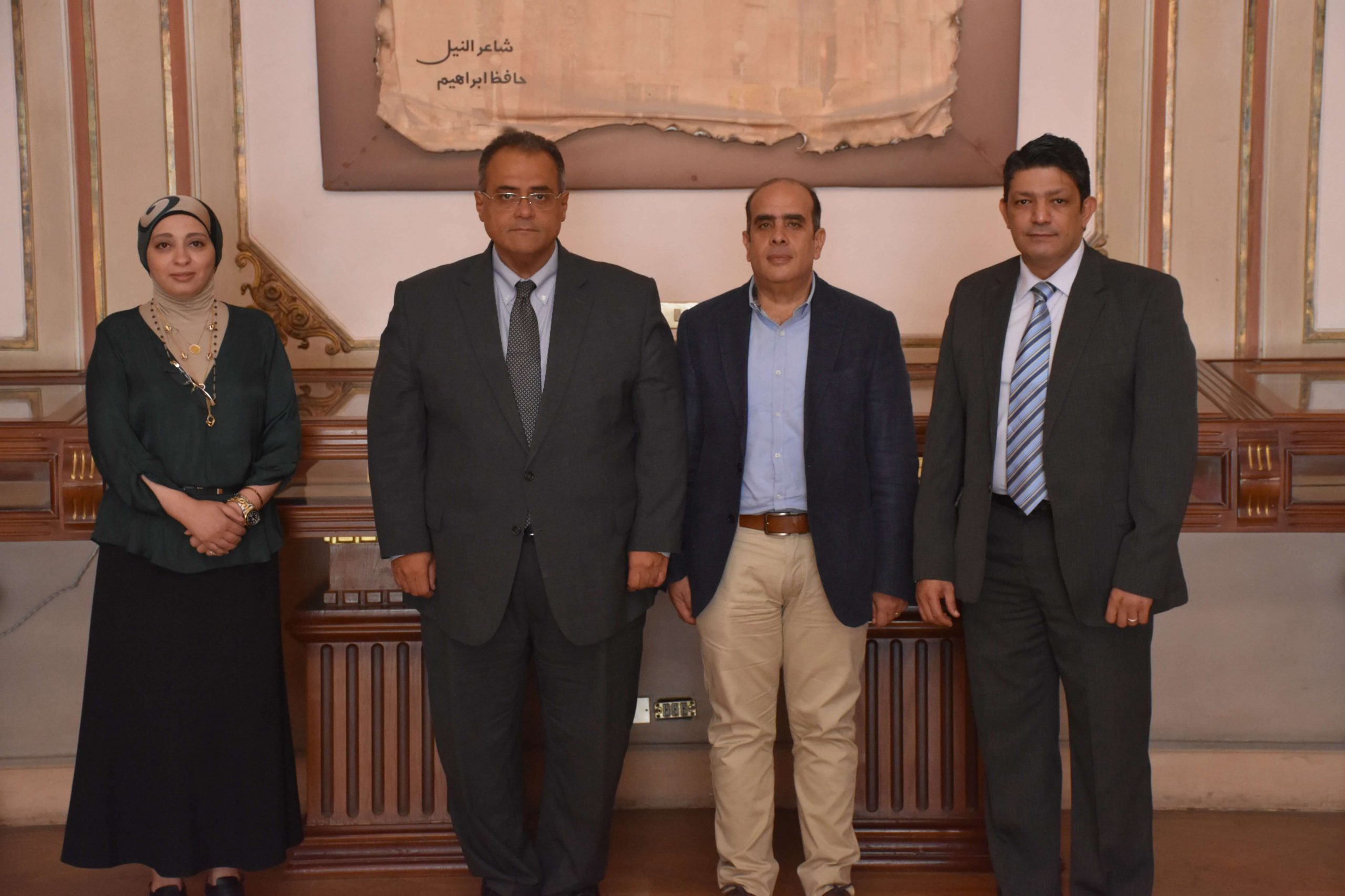 vice president - ain shams university with qorrect team for e-assessments