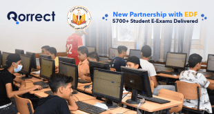 EDF and Qorrect partnership - e-exams